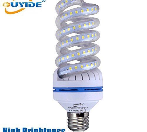 20w Led Bulb A19: OUYIDE Spiral LED Corn Light Bulbs 180 Watt Equivalent